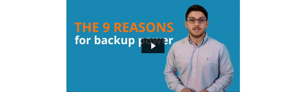 The 9 Reasons for Backup Power