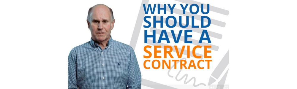 Why should you have a service contract?