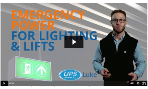 Emergency Power for Lighting and Lifts