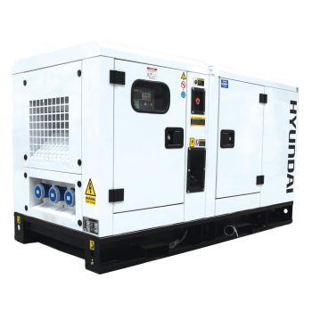 Hyundai Generator DHY22KSE 1500rpm 22kVA Three Phase Diesel Generator