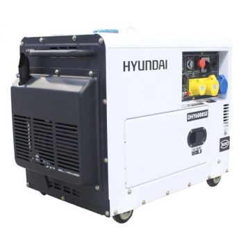 Hyundai Generator DHY6000SE 5.2kW 'Silent' Standby Diesel Generator