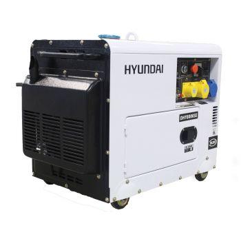 Hyundai Generator DHY8000SELR 6kW Silenced Long Run Diesel Generator