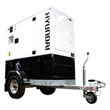 Hyundai Generator Diesel Generator Trailer