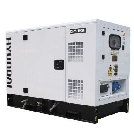 Hyundai Generator DHY11KSE 1500rpm 11kVA Three Phase Diesel Generator