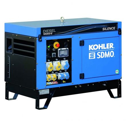 SDMO Generator Diesel10000E UK Silence with APM202