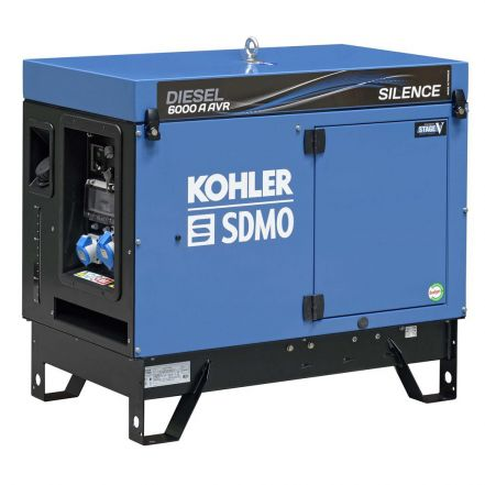 SMDO Generator Diesel6000A Silence with APM202 Diesel Generator