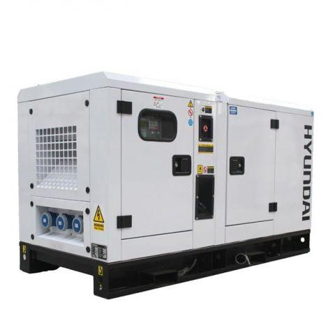 Hyundai Generator DHY22KSEm 1500rpm 22kVA Single Phase Diesel Generator