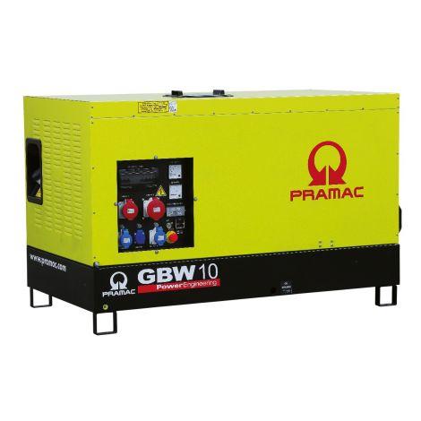 Pramac Generator 7kVA 1 Phase Standby Diesel Generator (GBW10P)