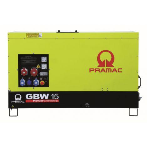 Pramac Generator 9kVA 1 Phase Standby Diesel Generator (GBW15P)