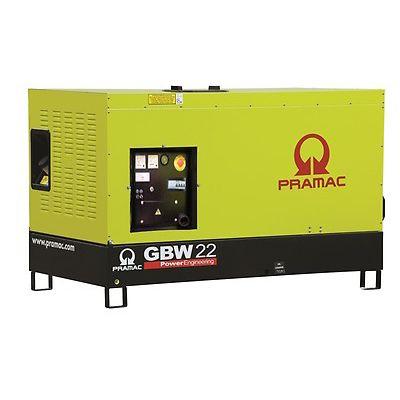 Pramac Generator 13kVA 1 Phase Standby Diesel Generator (GBW22P)
