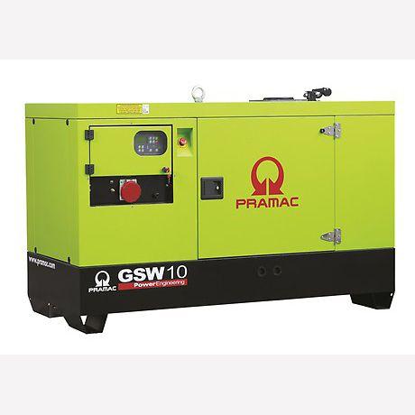Pramac Generator 10kVA 3 Phase Standby Diesel Generator (GSW10P)