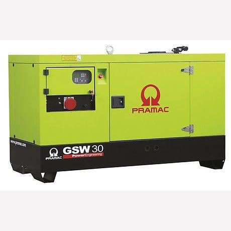 Pramac Generator 32kVA 3 Phase Standby Diesel Generator (GSW30P)
