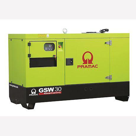 Pramac Generator 19kVA 1 Phase Standby Diesel Generator (GBW30P)
