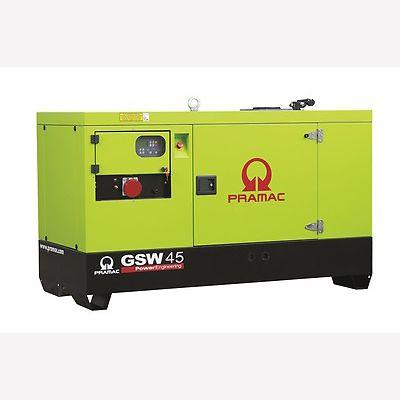 Pramac Generator 48kVA 3 Phase Standby Diesel Generator (GSW45P)