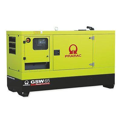 Pramac Generator 3 Phase Standby 60kVA Generator (GSW65P)