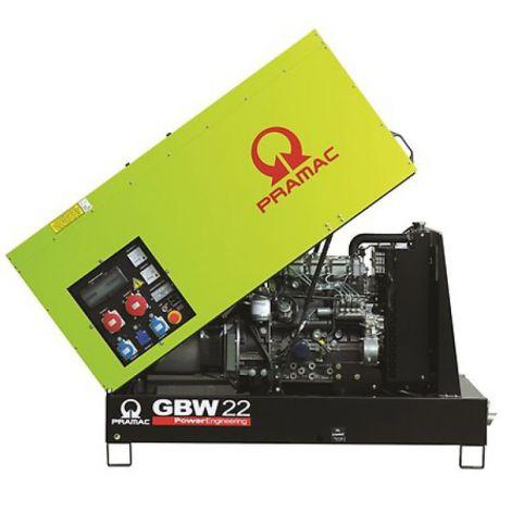 Pramac Generator 20kVA 3 Phase Standby Generator (GBW22P)