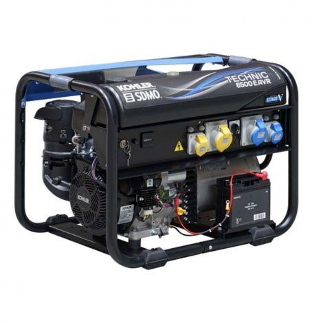SDMO Generator Technic 6500 A AVR Apm202 UK