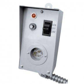 Hyundai Generator 201482 - 100amp 2 pole 230v Manual Transfer Switch
