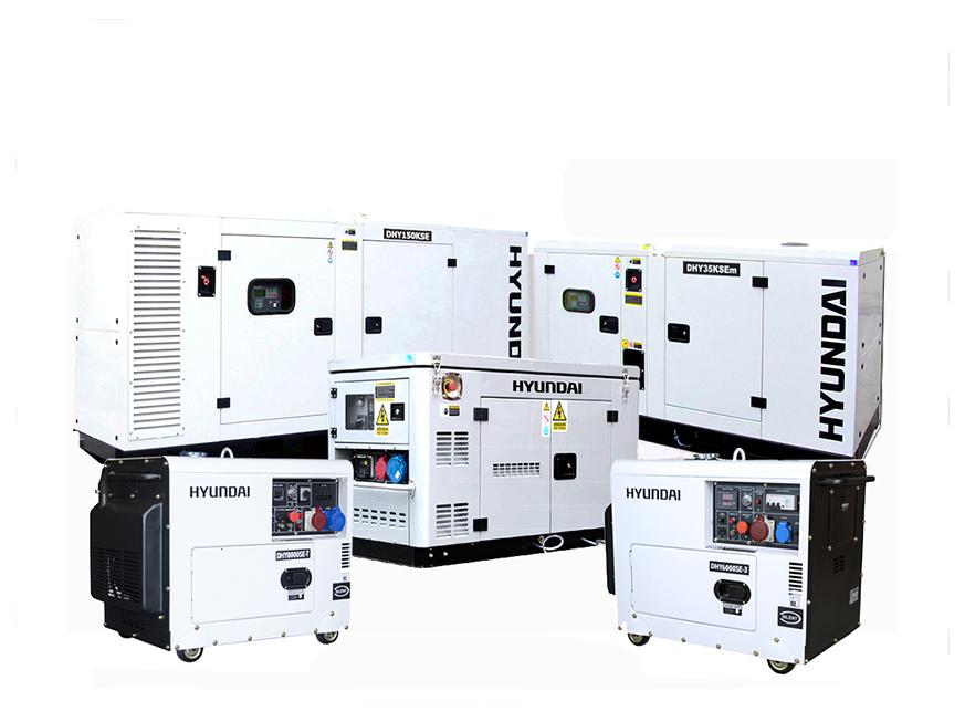 diesel generator range