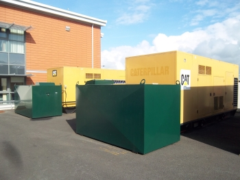 Standby power generator installation at RAF Valley