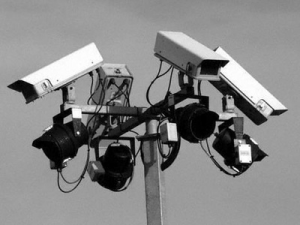 Back up power for CCTV security