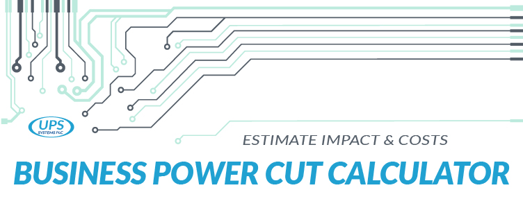 Business Power Cut Calculator: Estimate Impact & Costs