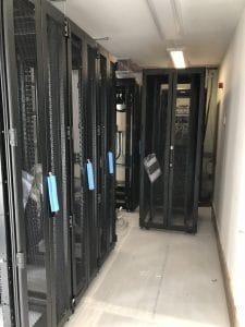 Racks in Data Centre
