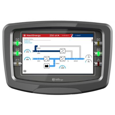 Riello UPS NextEnergy NXE Display