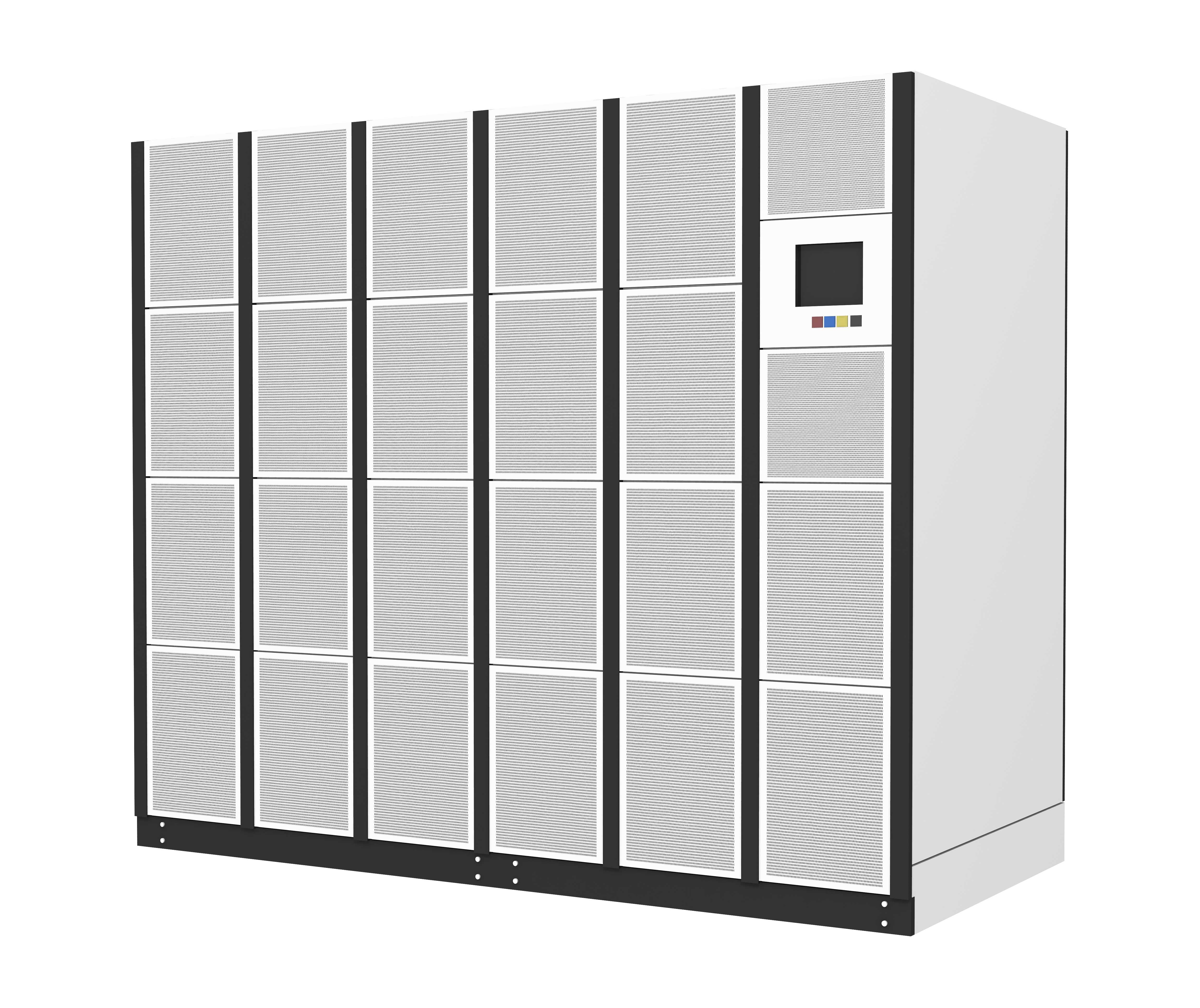 Large Uninterruptible Power Supply (UPS) System